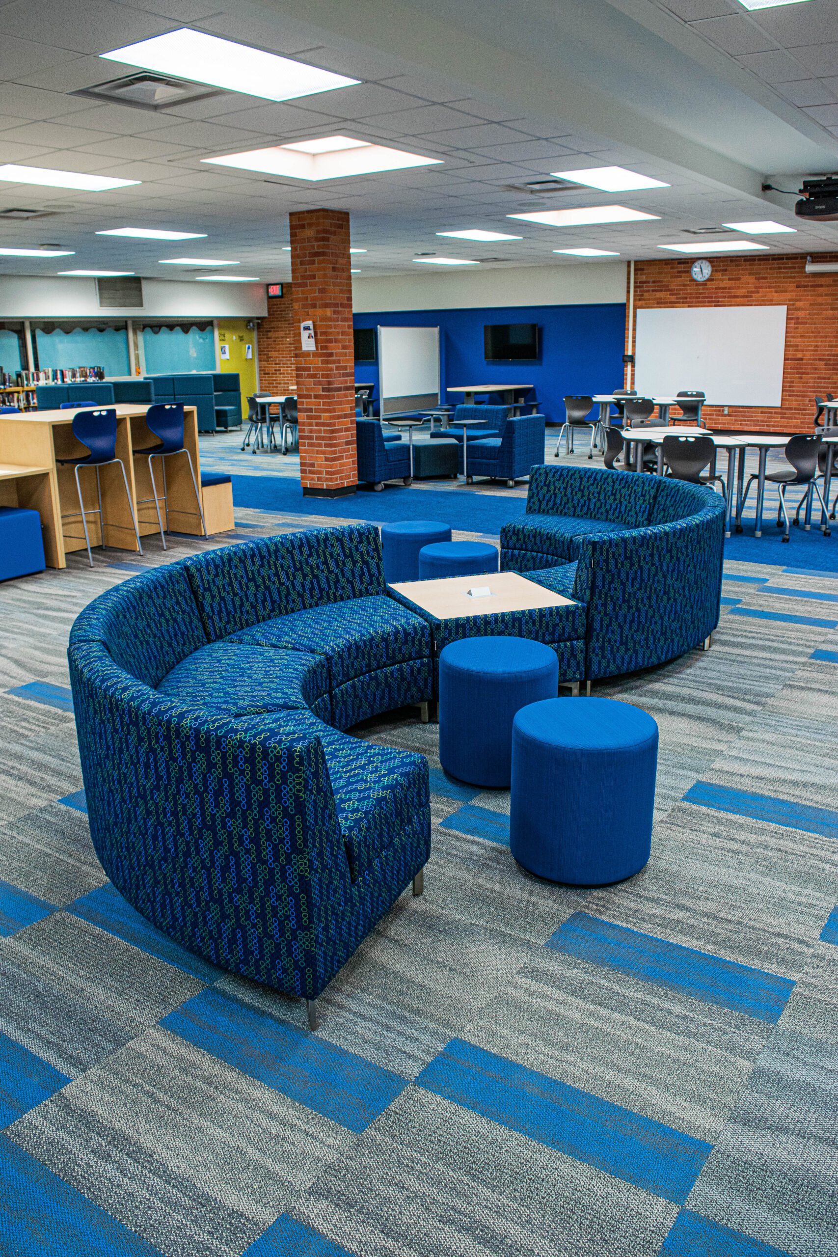 Designing Responsive Learning Spaces Throughout a School