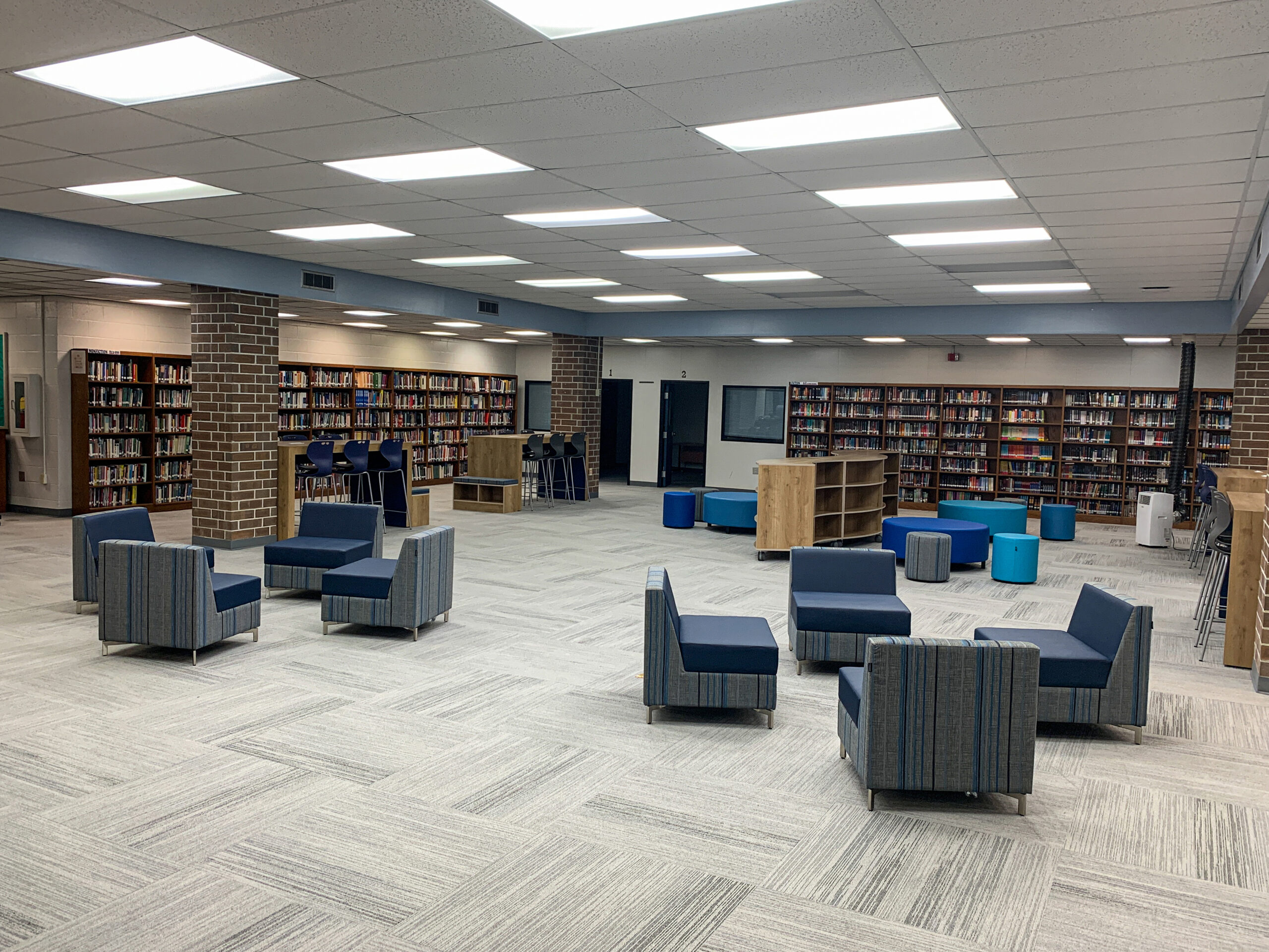 Georgetown High School Transforms its Media Center into a Student-Centric Space