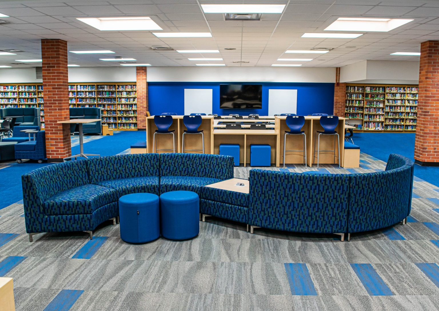 Districtwide Modernization Project Transforms Media Centers into Activity Hubs