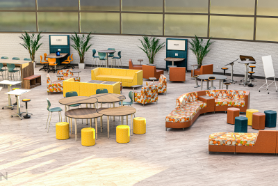 Modern Common Area Space