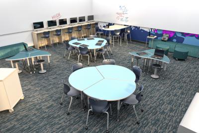 Modern K12 Computer Lab