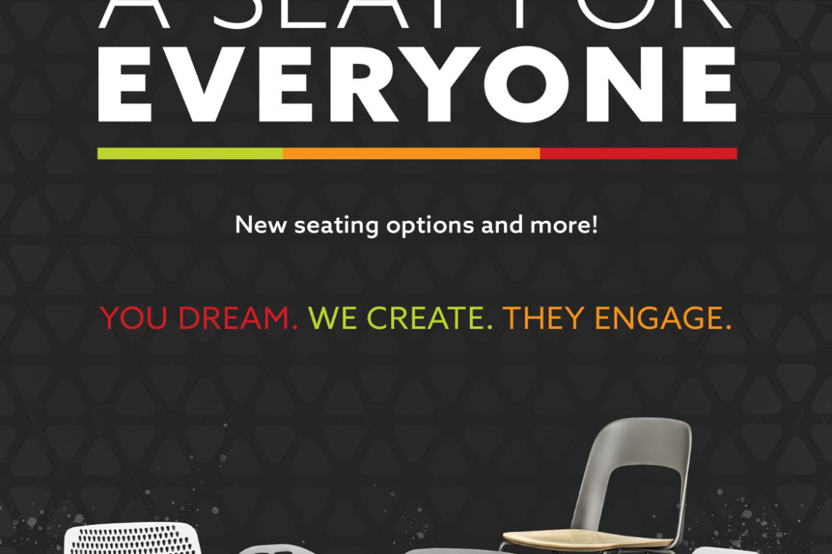 A Seat for Everyone and More: New Products for Flexible Spaces
