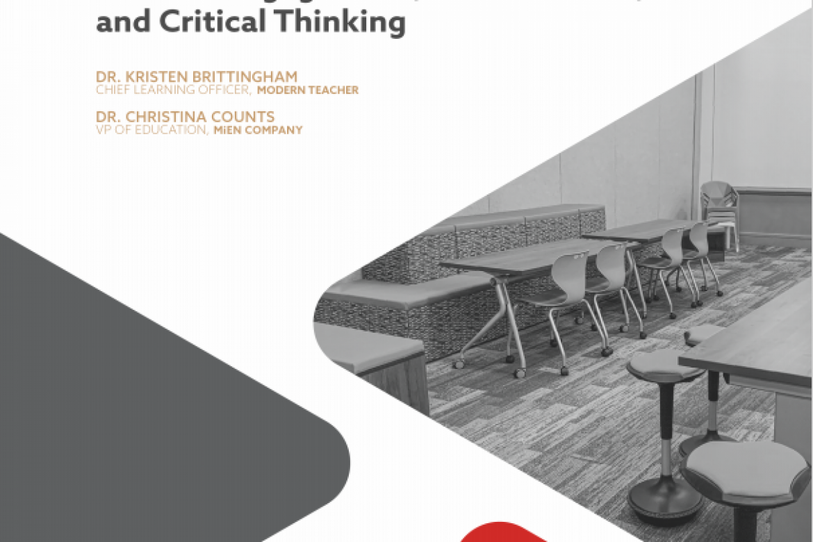 MiEN Company Releases White Paper on  How Flexible Furniture Creates Active Learning Environments