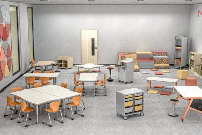 5 Classroom Learning Zones to Promote Engagement